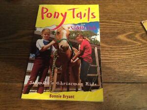 PONY TAILS #12 COREY'S SECRET FRIEND by BONNIE BRYANT SOFTCOVER VGC