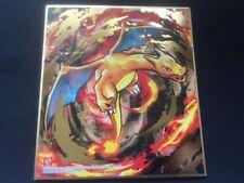 Pokemon center JAPAN - Charizard Art Board ver.4 Print Shikishi  From Japan