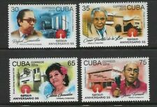 2019 Egrem Anniv Musicians Musical Study Juan Formell Caribbean Island Mnh Set