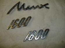 HILLMAN MINX CHROME BADGES CLASSIC CAR