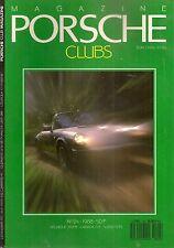PORSCHE CLUB MAGAZINE 24 1988 INDY 500 1911 1946 356 CABRIOLET & SPEEDSTER 911
