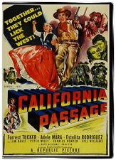 California Passage 1950 DVD- Forrest Tucker, Jim Davis, Adele Mara