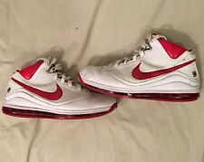 Nike Lebron 7 Nfw White/Red Men's Basketball Shoes Size 12 Lbj Lebron James