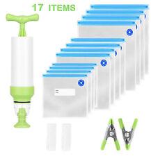 Sous Vide Bags,Reusable Vacuum Food Sealer Bags,Food Storage Freezer Bags