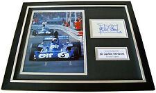 SIR JACKIE STEWART Signed Framed Photo Display AUTOGRAPH Formula 1 Sport & COA
