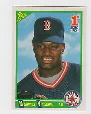 "(4) MAURICE ""MO"" VAUGHN ROOKIE 1990 Score Huge Card Lot [Boston RedSox] Mets"