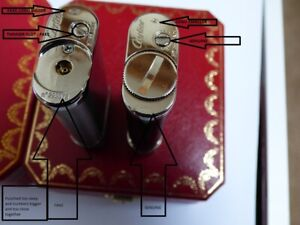 Cartier Decor Lighters - INFORMATION ONLY - Beware of Decor FAKE lighters
