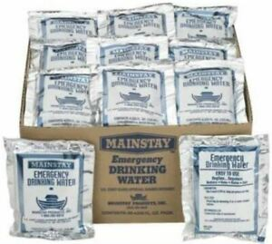 Mainstay Emergency Drinking Water 4.225 oz, 30 Pack, Free Shipping