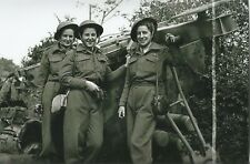 Ww Ii - Usa Photo - Canadian Nurses In France