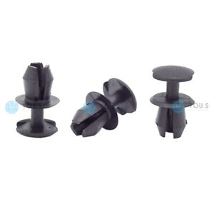 20 X You.S Bonnet Boot Clips Ø 7 MM for Seat Ibiza II III IV - New