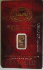Goldbarren 1g Feingold 999-er