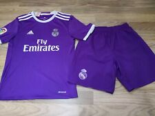 adidas  Real Madrid Away 16/17 Junior Boys girl 11-12 years Football  Kit