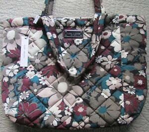 Marc Jacobs Bag Quilted Flower Floral Tote NEW