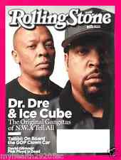 Rolling Stone Magazine August 27, 2015 - Dr Dre, Ice Cube Straight Outta Compton