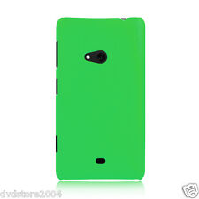 Custodia BACK VERDE Cover Case Rigida Hard Matt Plastica per Nokia Lumia 625