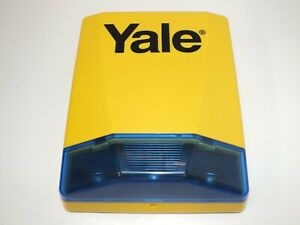 UNUSED Yale Wireless 104db Live Alarm Bell Siren Wall Box for HSA3000 or HSA6000