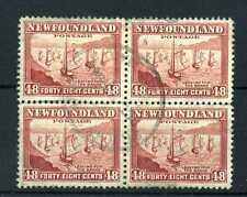 Used North American Stamp Blocks