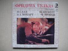 FRIEDRICH GULDA - piano,Bach/Mozart/Chopin/Schubert LP