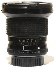 Sigma 21-35mm f3.5-4.2 Ultra Wide Zoom Full Frame A Lens Pentax K-1 Film/Digital