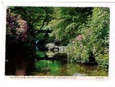 Postcard:The Hermit Bridge and Falls, Tollymore Forest Park, Newcastle, Co. Down