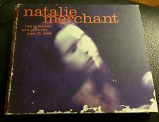 Natalie Merchant Live in Concert NYC 6/13/1999 CD 100% tested Disc in exc. cond.
