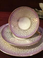 BEAUTIFUL MID CENTURY SCHUMANN ARZBERG CUP AND SAUCER TRIO #61 BAVARIA