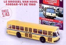 Bus Brossel Van Hool A98DAR-V1 1960 1:43 Neu & Box Diecast Model