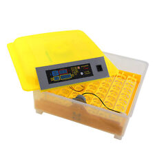 Egg Incubator Automatic Hatch Turning LED Digital 56 Chicken Quail Poultry Bird
