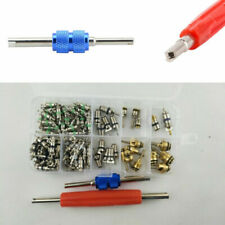 Vehicle Air Conditioning Replacement Valve Core A/C R12 R134a+Remover Tool Set&