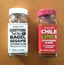 TWO (2) pack! Trader Joe's Everything But the Bagel & Chile Lime Seasoning Blend