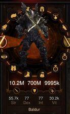 DIABLO 3 PS4 Primal Legit Immortal Kings/Barbarian Hammer Of The Ancients Build