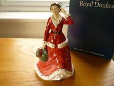 Royal Doulton estatuilla del día de invierno HN3769 exclusivamente para coleccionistas Club En Caja