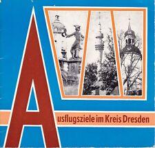 Ausflugsziele im Kreis Dresden mit den Städten Radebeul, Radeberg und Radeburg