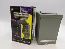 Emergen Switch P150 Rainproof Power Inlet Box 50a 50 Amp Generator Receptacle
