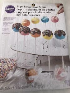 Wilton Cake Pop Decorating Display Stand holds 44 Pops NEW  Sticks Not Included.