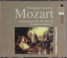 """Mozart, Leipziger Streichquartett -""""Preußische Quartette""""- 2xCD Box-Set"""