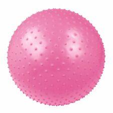 Ballon de massage Ø 55 Balle de gymnastique et fitness + pompe & bol en bois