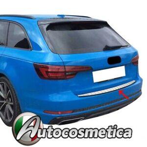 Modanatura soglia Paraurti  Battivaligia Acciaio Cromato Audi A4 B9