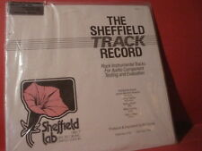 "SHEFFIELD LAB 20 ""THE SHEFFIELD TRACK RECORD""(DIRECT-DISC-RECORD/FACTORY SEALED)"