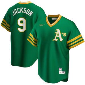 Nike Oakland Athletics Reggie Jackson Cooperstown Collection Replica Team Jersey