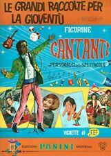 PANINI CANTANTI 1968 FIGURINE a scelta originali PERFETTE