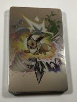 Pokemon Let's Go Eevee Pikachu Nintendo Switch STEELBOOK (NO GAME) Ships in box