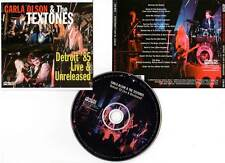 """CARLA OLSON AND THE TEXTONES """"Detroit 85 Live & Unreleased"""" (CD) 2008"""