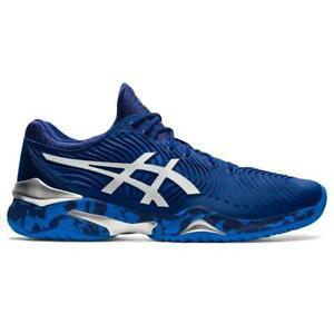Asics Court FF 2 Novak Djokovic Men's Tennis Shoe (Blue Print/White)