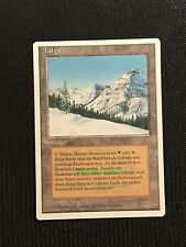 MTG Magic the Gathering - Taiga - NM/EX - Revised - 3rd  - GERMAN - Dual Land