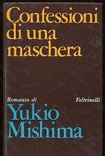 CONFESSIONI DI UNA MASCHERA Yukio Mishima - Feltrinelli 1969 prima edizione
