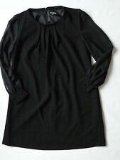 Women's The Collection Debenhams georgette dress black  color size 18 BNWOT