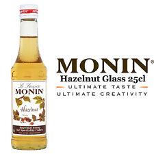 Monin Sciroppo Di Caffè-NOCCIOLA-bottiglia vetro 25cl-Come Usato Da Costa Coffee