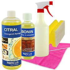 CITRAL Orangenölreiniger 1000 ml + BONIN 300 ml Möbelreingung Pflege Holzpflege