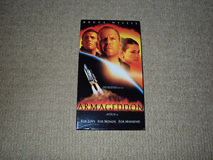 ARMAGEDDON, VHS MOVIE, EXCELLENT CONDITION, MICHAEL BAY